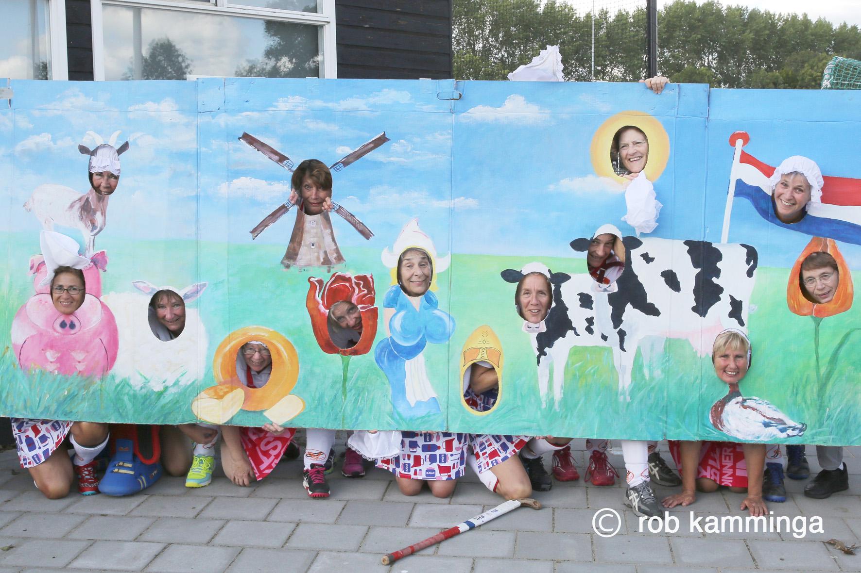 25-09-2018, alblasserdam, dameshockeytoernooi veterinnen bij hc souburgh foto rob kamminga